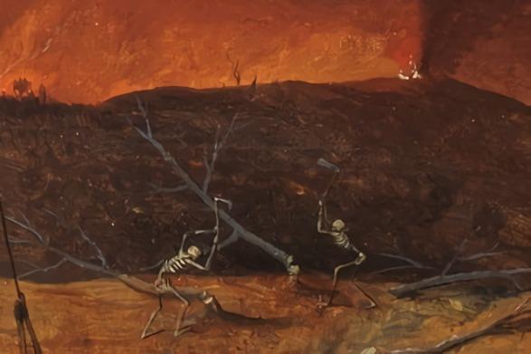 Siempreesperantes Ágiles aplicando la táctica militar de la tierra quemada por Pieter Brueghel el Viejo